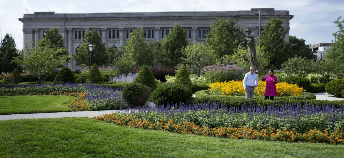 Outdoor Space At The World Food Prize