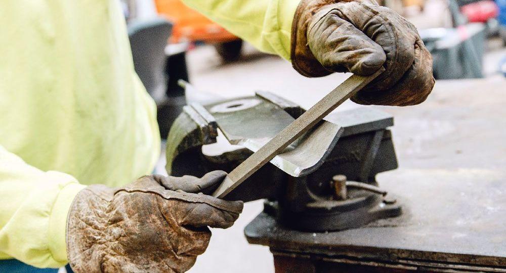 Sharpening A Mower Blade